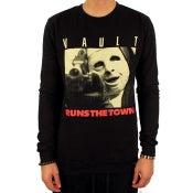 Image of Runs the Town Crew (Black)