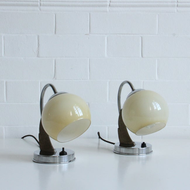 Image of Art Deco Side lights