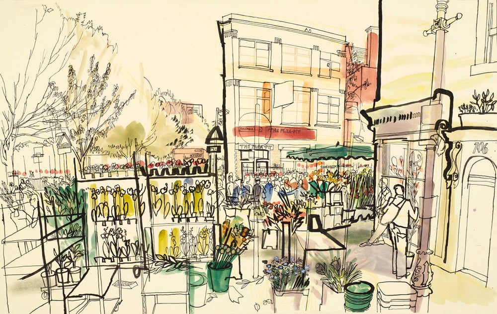 Image of Columbia Road Flower Market
