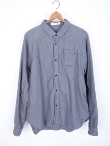 Image of JohnUndercover - Nubby Fabric Piped Flanel Shirt