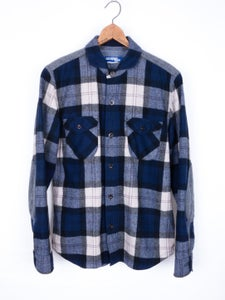 Image of Junya Watanabe MAN - Garment Milled Plaid Shirt