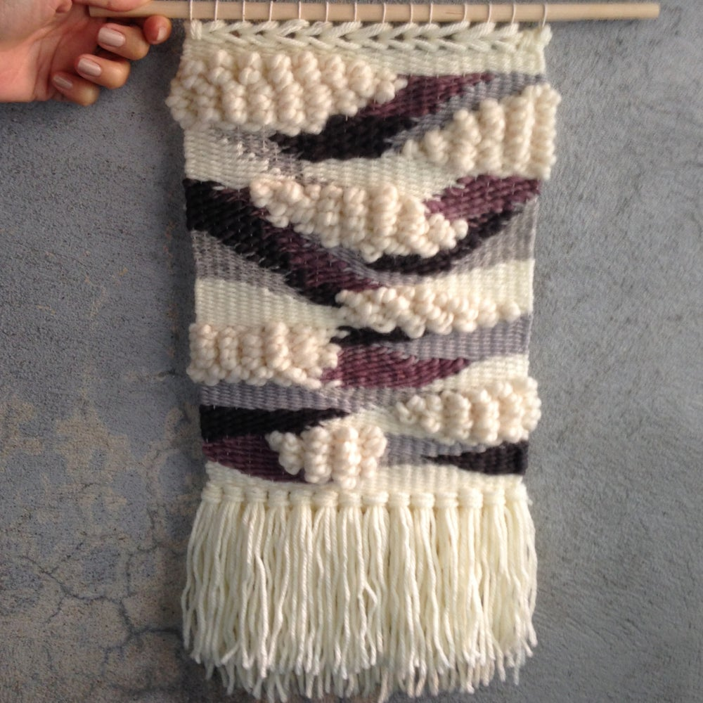 Image of Handmade Tapestry Wall Weaving 12