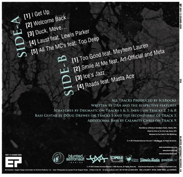 Image of DXA - (Self-Titled) EP // CD