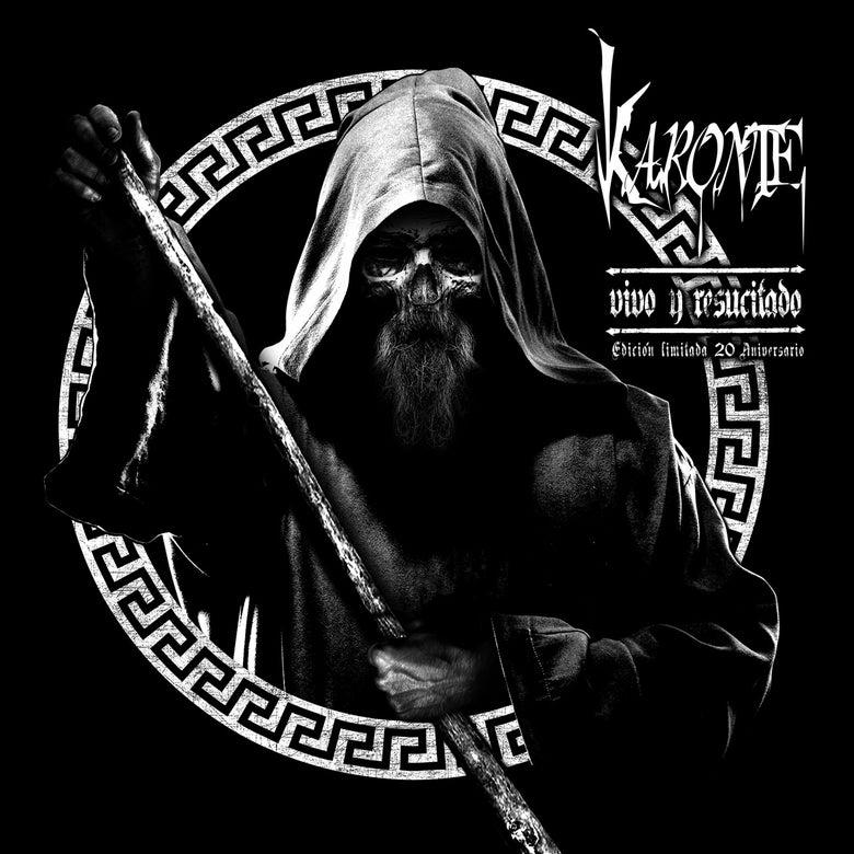 "Image of KARONTE ""Vivo y resucitado"" LP (White vinyl) + CD Digipack Ltd!!"