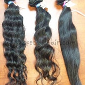 Image of Brazilian body wavy, deep wavy, or straight- Bundle Deals