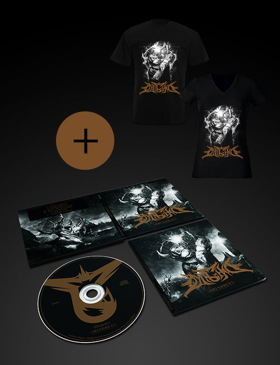 Image of Amendment EP + Devil Welder T-shirt