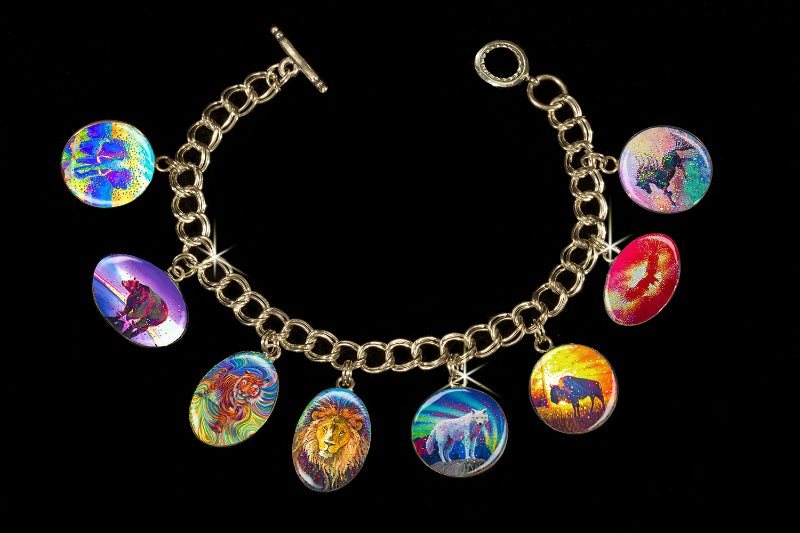 Image of Powerful Spirit Guide - Animal Totem Metaphysical Charm Bracelet by Julia Watkins