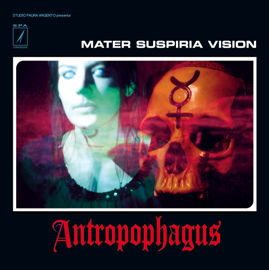 Image of MATER SUSPIRIA VISION - ANTROPOPHAGUS LP (RED VINYL, LIMITED 200)