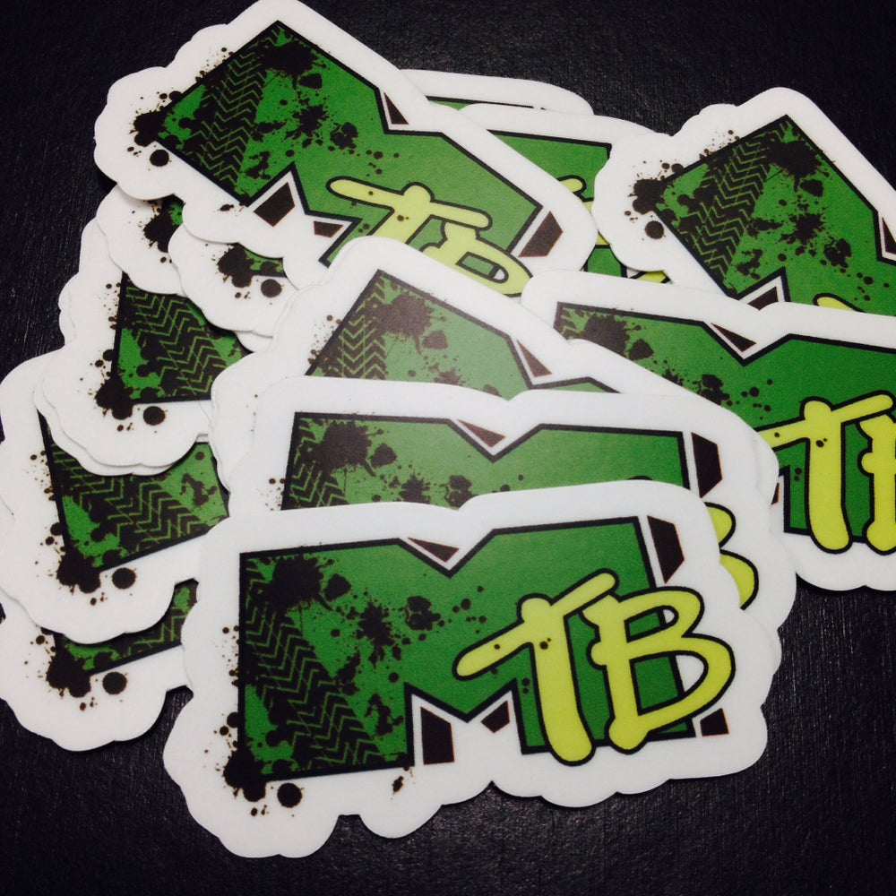 Image of I Want My MTB *sticker
