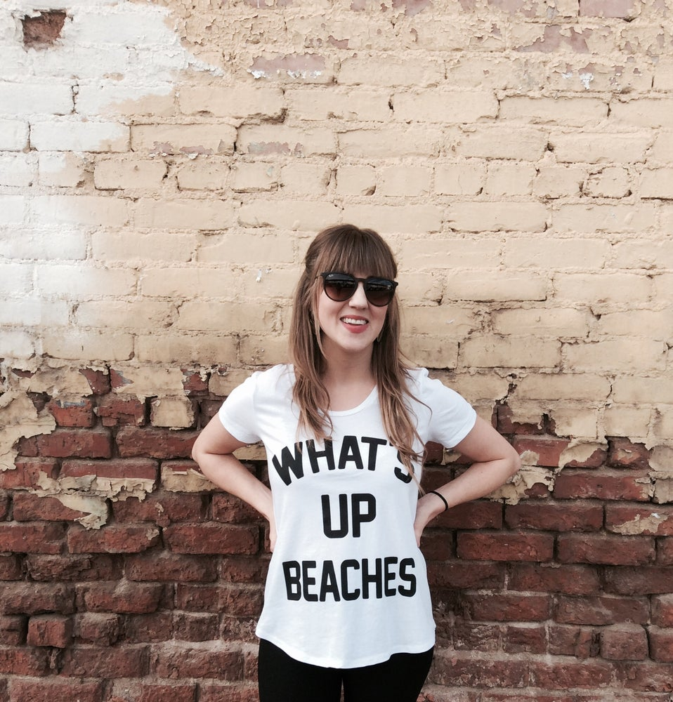 Image of What's up Beaches Women's Tee