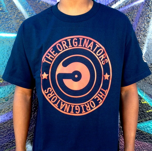 Image of OG CIRCLE LOGO (NAVY)