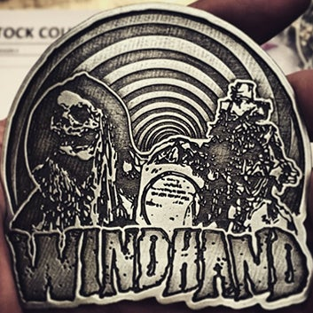 Image of Windhand: Belt Buckle