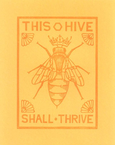 Image of Bee Print