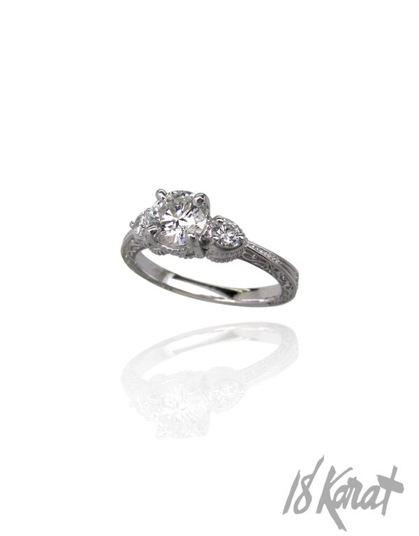 Angelica's Engagement Ring - 18Karat Studio+Gallery