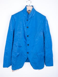 Image of Comme des Garcons Homme Plus - SS99 Ruffle Lining Milled Nylon Jacket