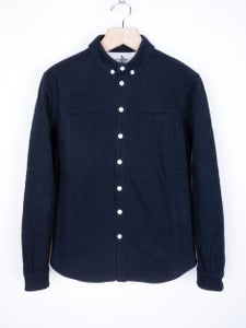 Image of Patrik Ervell - Woven Jersey Winter Button-Down