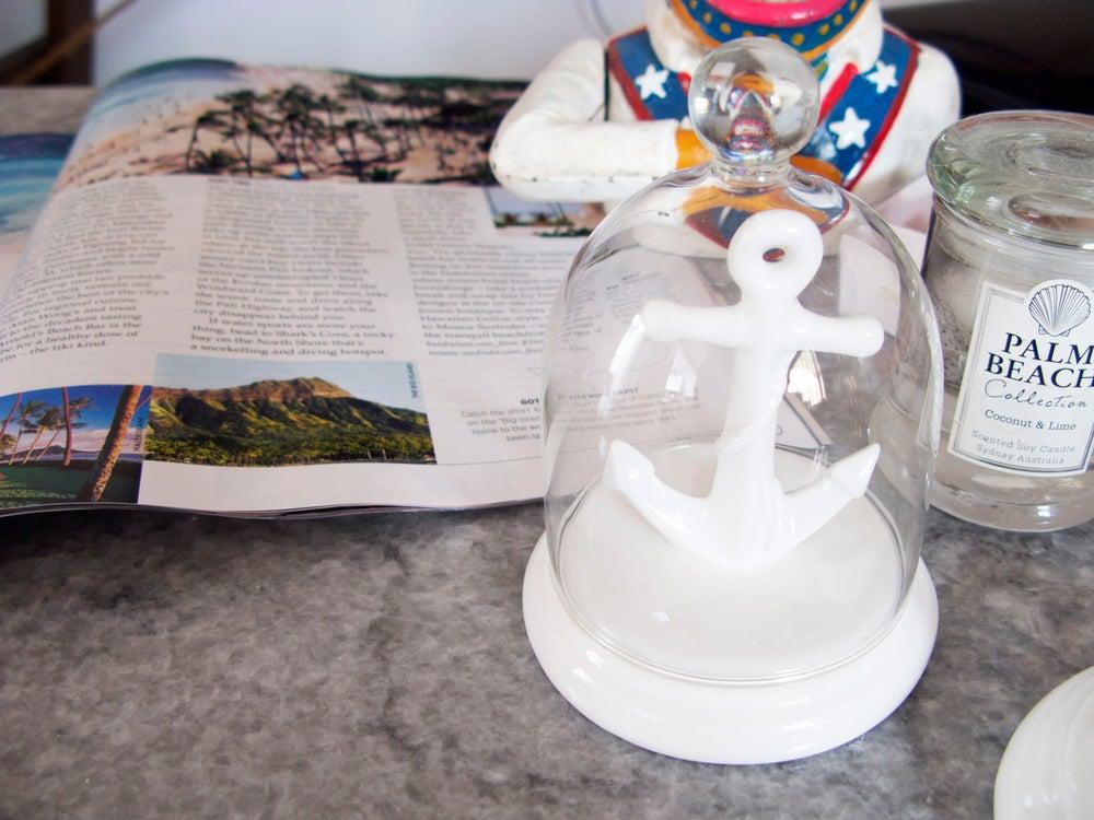 Image of Imm Living Anchor Bell Jar Ring Holder
