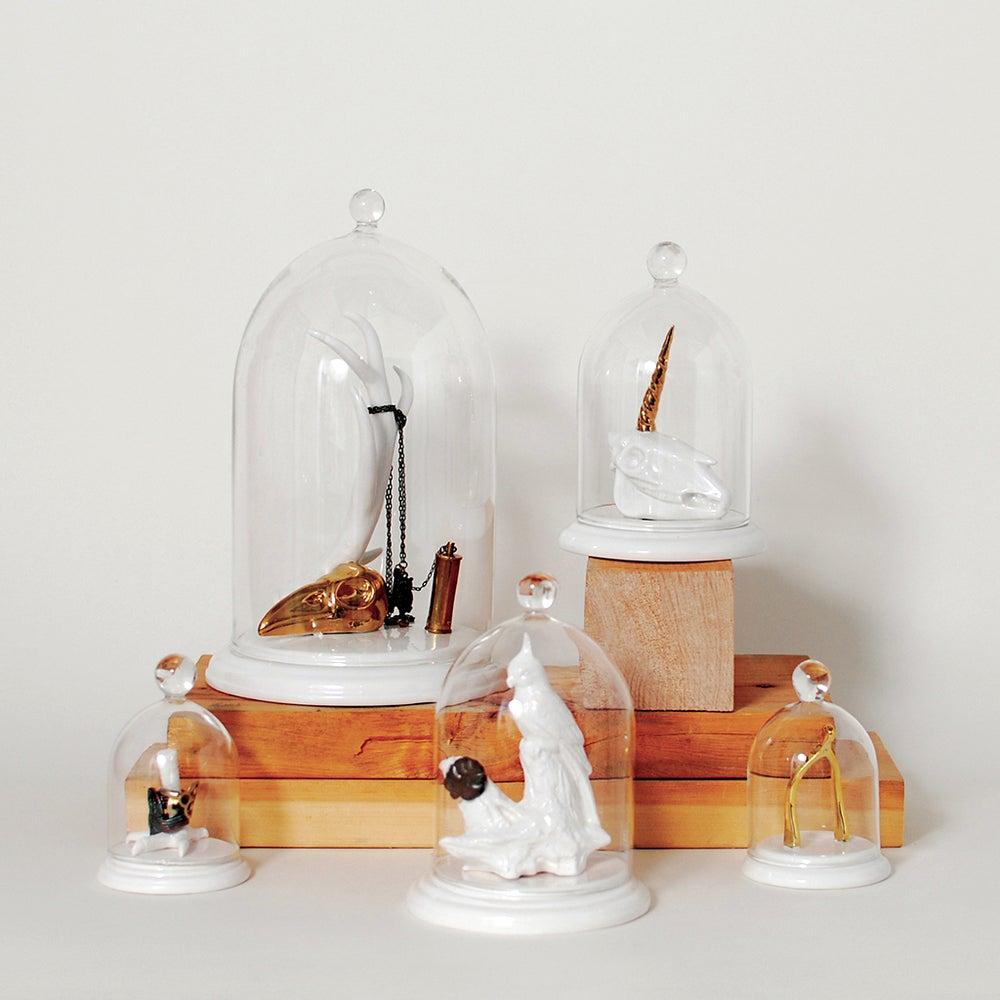 Image of Imm Living Wisbone Bell Jar Ring Holder