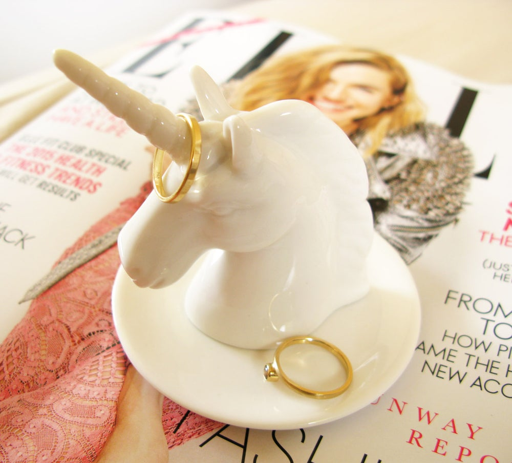 Image of Imm Living Bewitched Unicorn Ring Holder