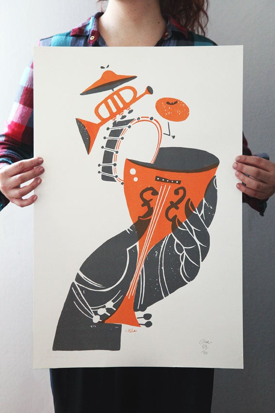 Image of Cocktail Jazz poster