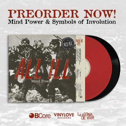 "Image of LADV50 - ALL ILL ""mind power + symbols of involution"" Lp"