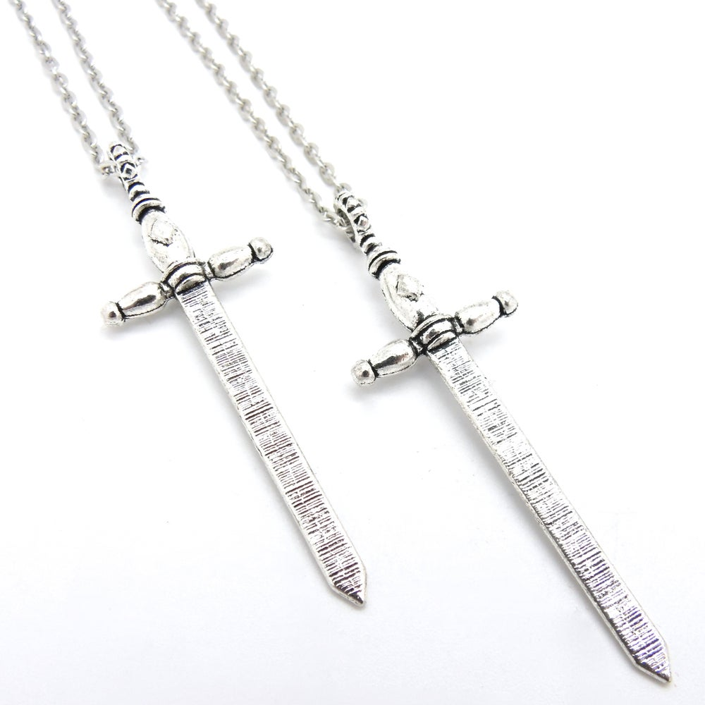 Image of Ace of Swords Necklace