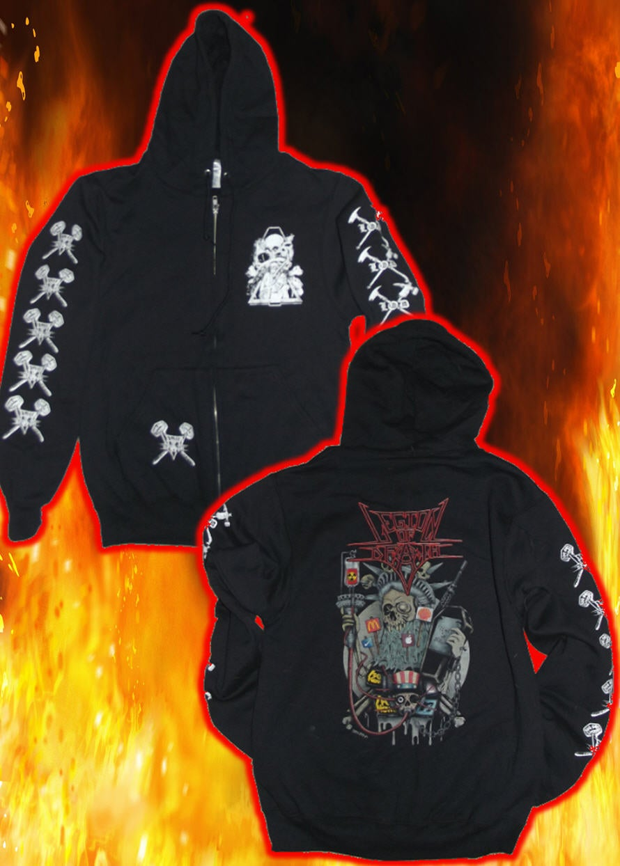 Image of legion of death Lady Liberty Hoodie