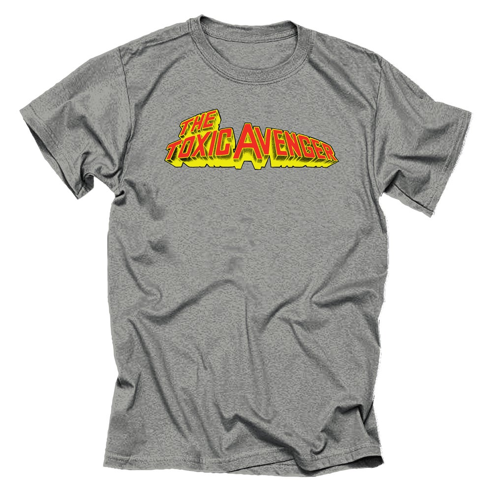 Image of Toxic Avenger - Title Banner (Gray)