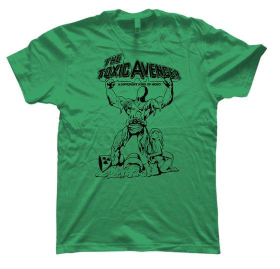 Image of Toxic Avenger - Sketch (Green)