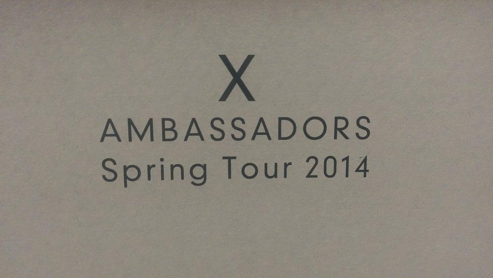 Image of X Ambassadors - Spring Tour 2014
