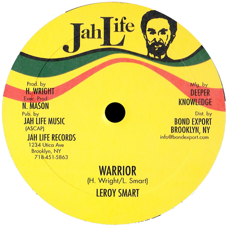 "Image of Leroy Smart - Warrior / Thief in the Night 10"" (Jah Life)"