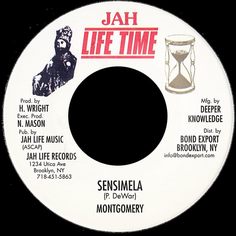 "Image of Montgomery - Sensimela 7"" (Jah Life Time)"
