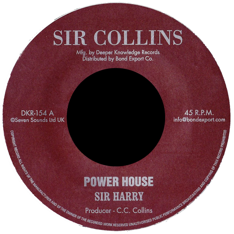 "Image of Sir Harry - Power House 7"" (Sir Collins)"