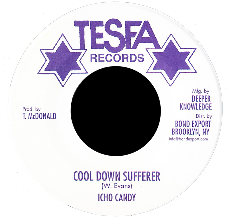 "Image of Icho Candy - Cool Down Sufferer 7"" (Tesfa)"