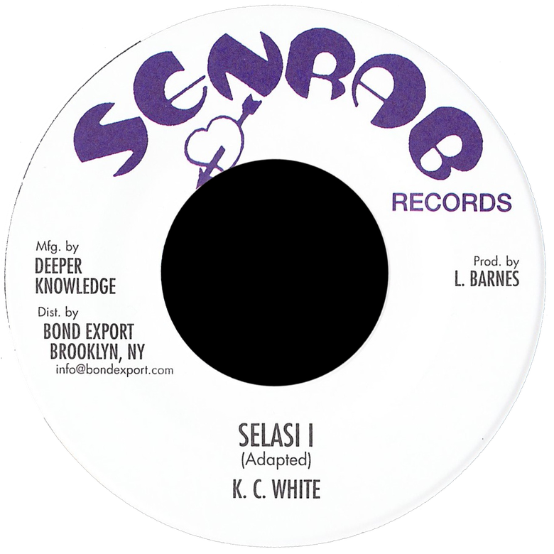 "Image of KC White - Selasi I 7"" (Senrab)"