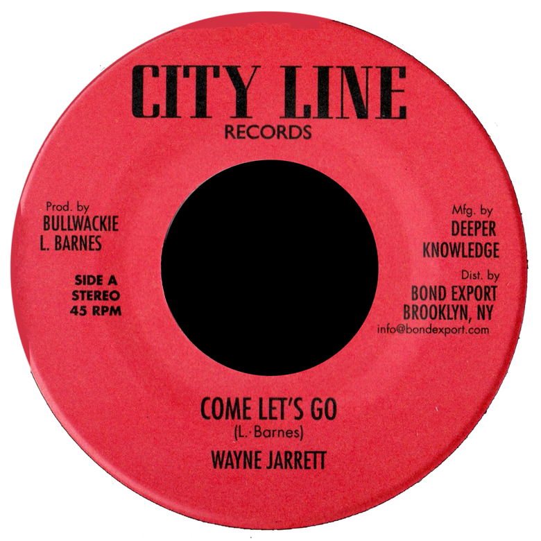 "Image of Wayne Jarrett / Jerry Johnson - Come Let's Go / Zion Rock 7"" (City Line)"