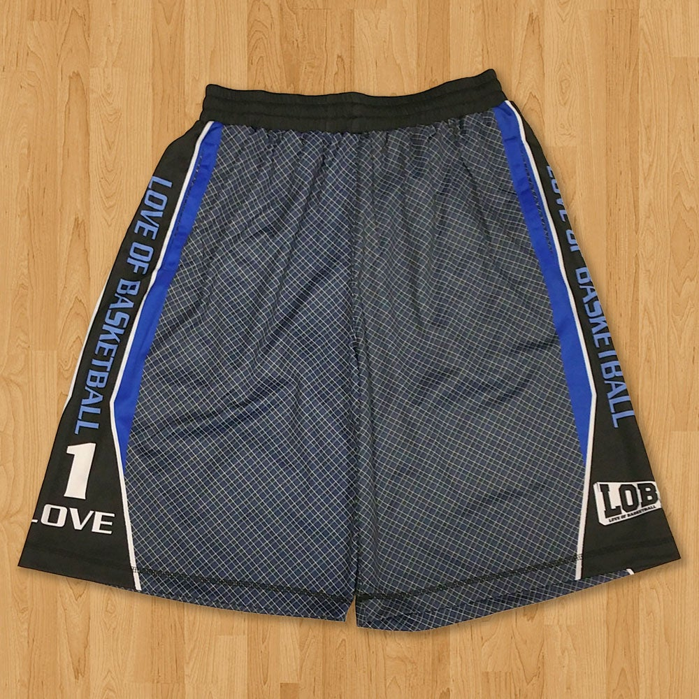 Image of LOB Graphic Shorts (Blue)