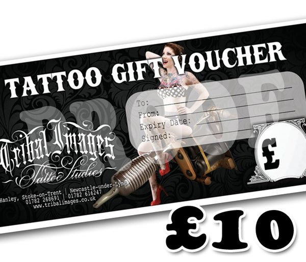 £10 Gift Voucher - Tribal Images