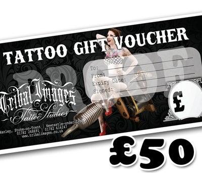 £50 Gift Voucher - Tribal Images