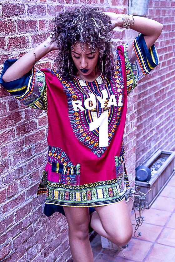 Image of Klearly Red Dashiki Jersey