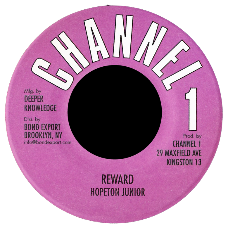 "Image of Hopeton Junior - Reward 7"" (Channel 1)"