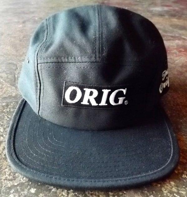 Image of ORIG BOX-LOGO 5 PANEL (BLACK)