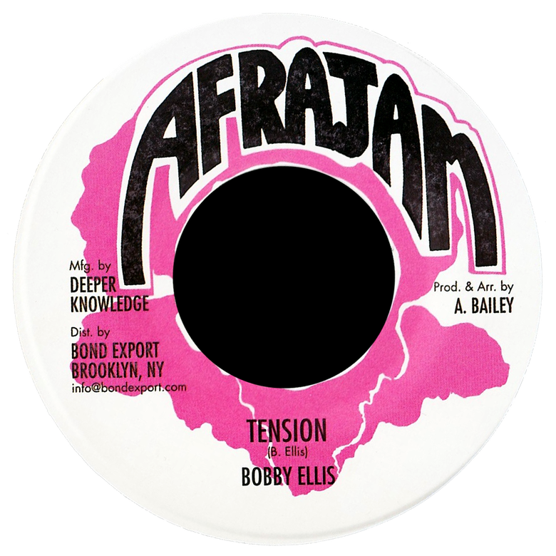 "Image of Bobby Ellis / Descant - Tension / Relax 7"" (Afrajam)"