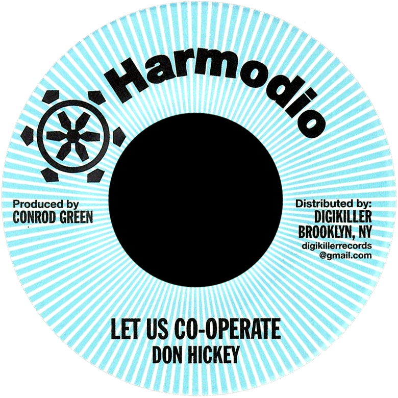 "Image of Don Hickey - Let Us Co-Operate 7"" (Harmodio)"