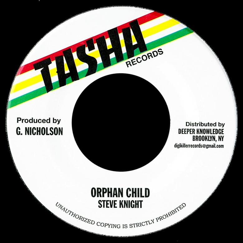 "Image of Steve Knight - Orphan Child 7"" (Tasha)"