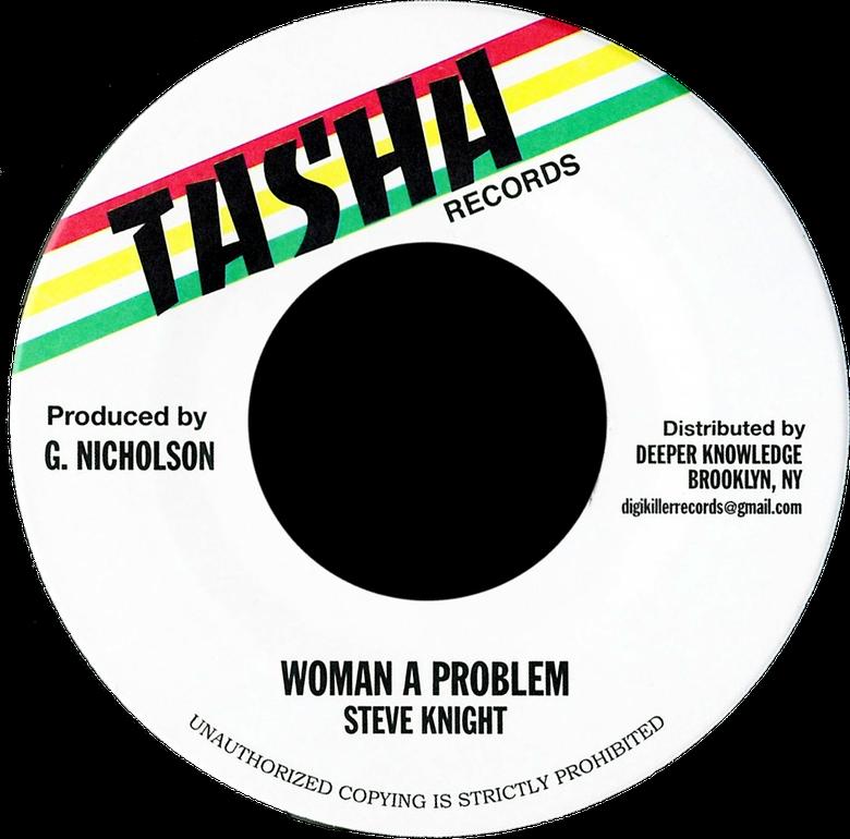 """Image of Steve Knight - Woman a Problem 7"""" (Tasha)"""