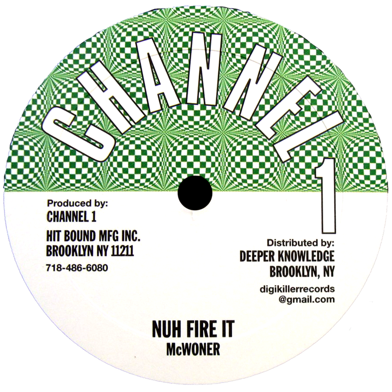 """Image of McWoner - Nuh Fire It / Higher Region 10"""" (Channel 1)"""
