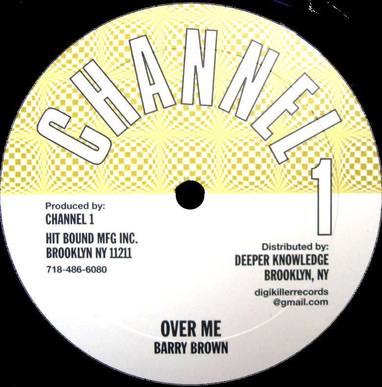 "Image of Barry Brown / Angela Prince - Over Me / Joker Lover 10"" (Channel 1)"