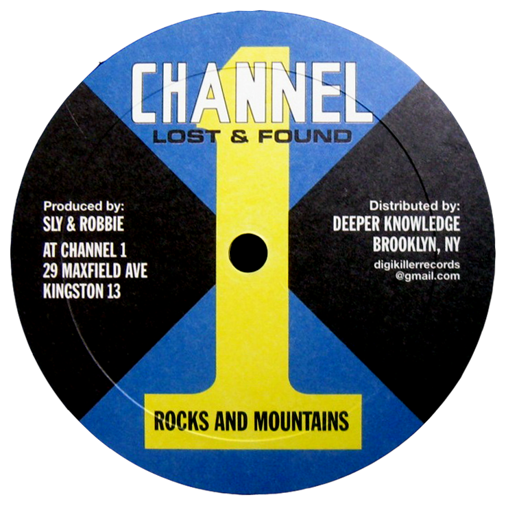 "Image of unknown artist (Majesterians ?) - Rocks and Mountains / Version 10"" (Channel 1)"