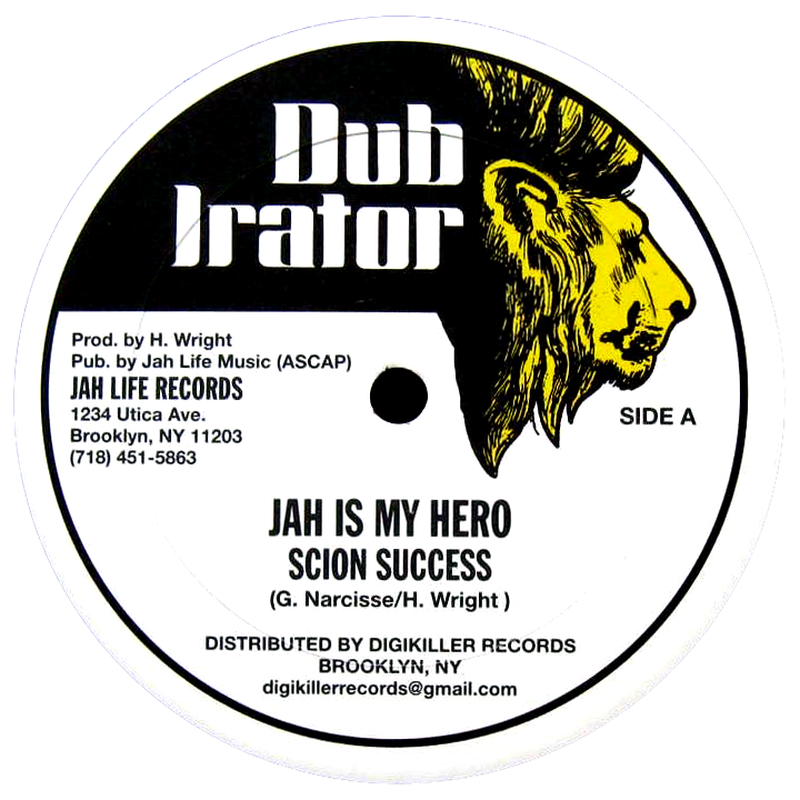 "Image of Scion Success / Jug Head - Jah Is My Hero / Joyce Gone 12"" (Dub Irator)"
